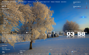Rainmeter Skin Snowbird Layout_01