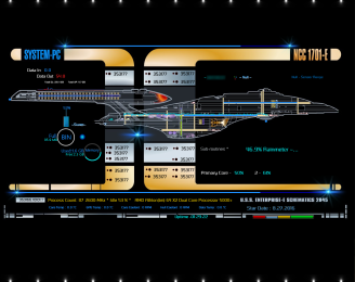 System_PC_Star Trek Rainmeter Skin