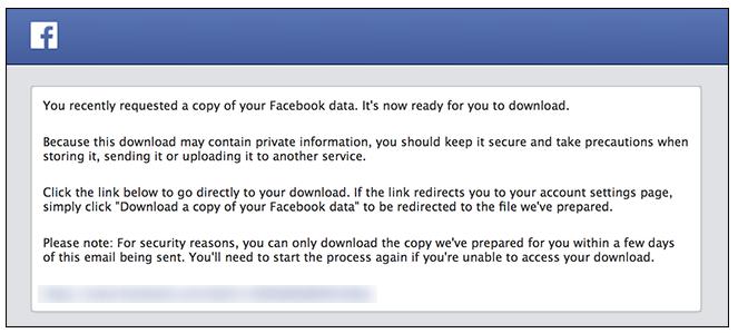 facebook/dataarchive