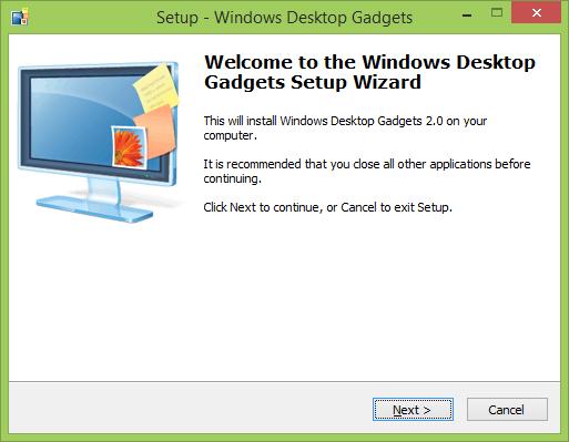 desktop/gadgets