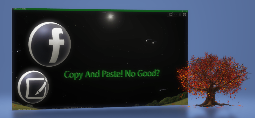 3D/Facebook/copynpaste